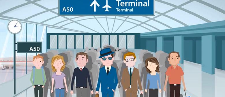 App deixa a espera no aeroporto mais divertida