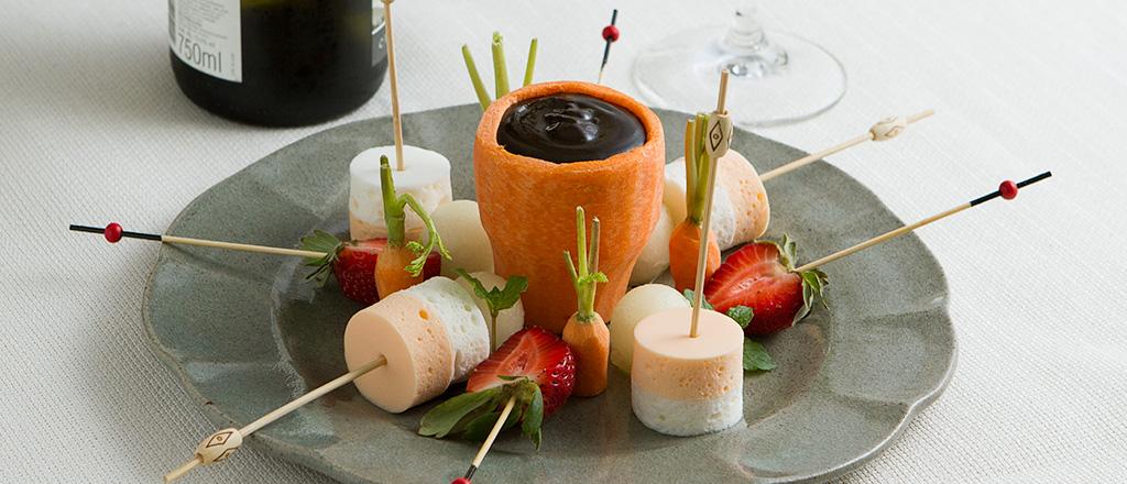 fondue-de-alfarroba