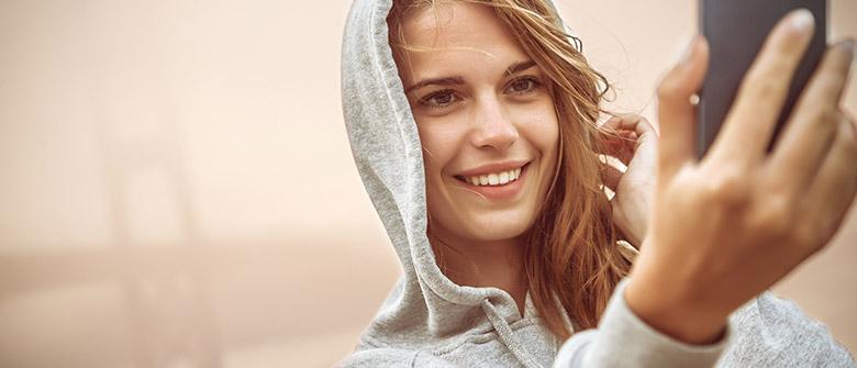 Sorria! Ainda mais com app imprime e envia fotos sem custo
