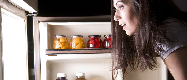 Para perder barriga, abra a geladeira
