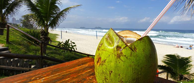 Todo o poder da água de coco