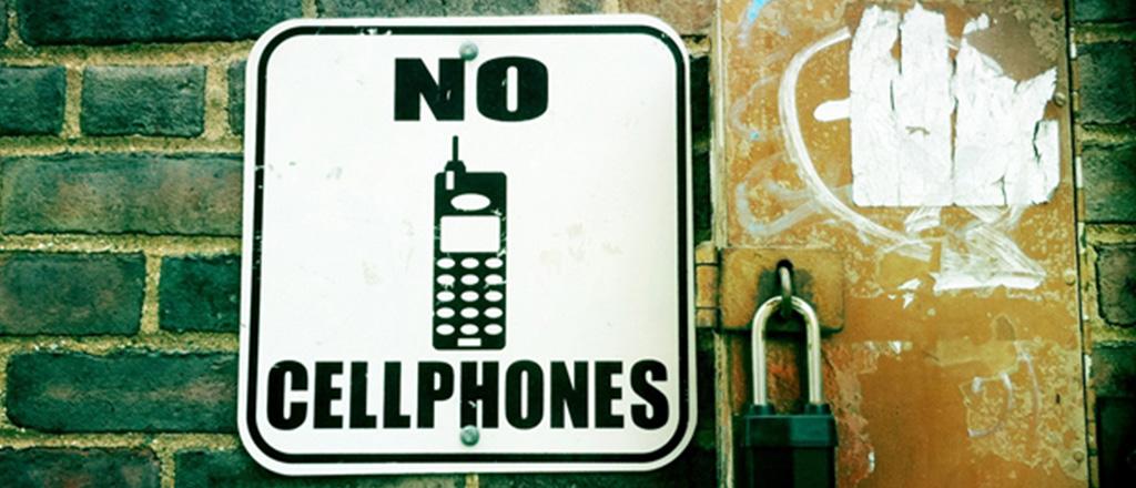 A arte de andar por aí sem portar um celular