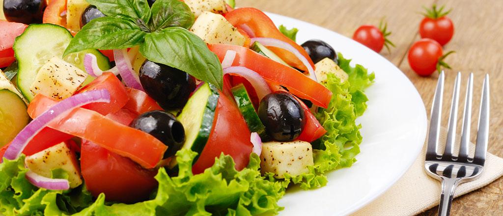 Reinventando a salada