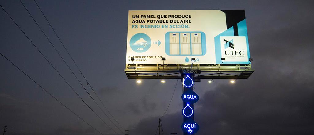 Criatividade contra a seca em cartaz
