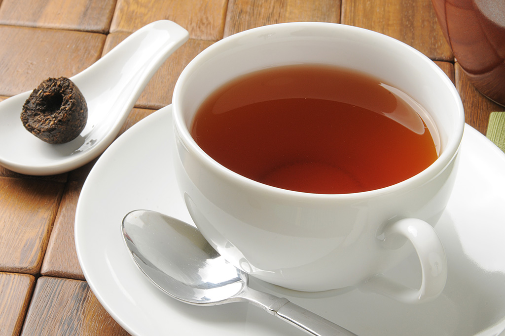 A dieta imperial do chá vermelho