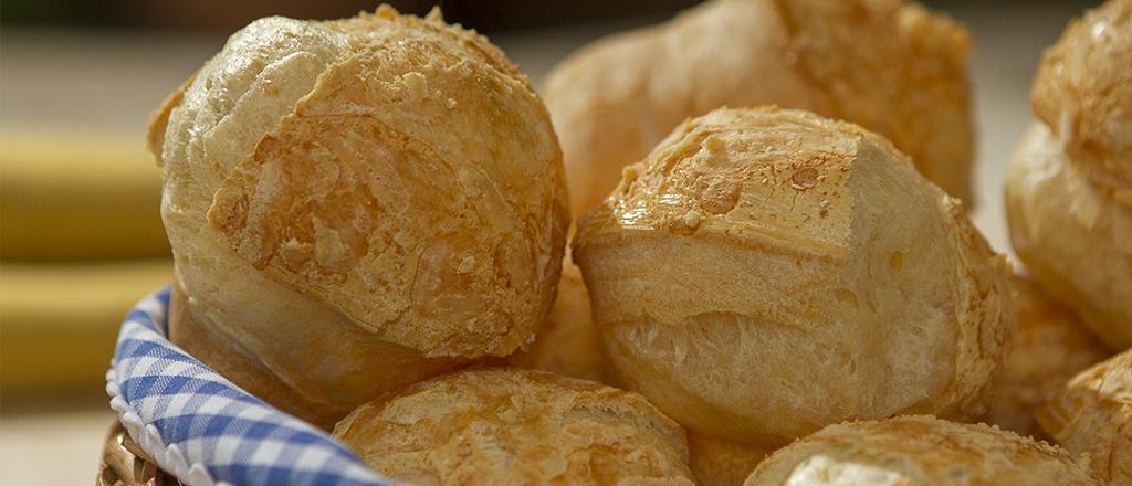 Pão de queijo aerado