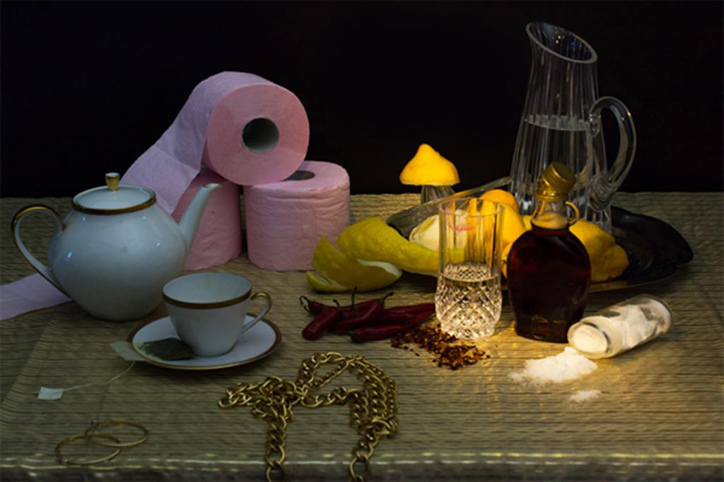 mesa dos artistas