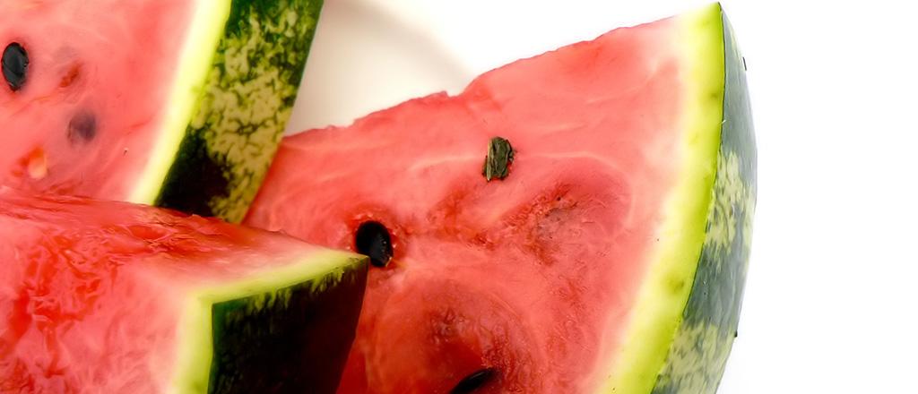 Melancia é a fruta detox por excelência