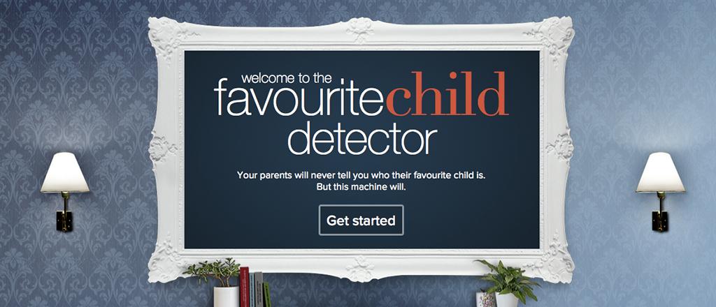 Teste se você é o filho favorito