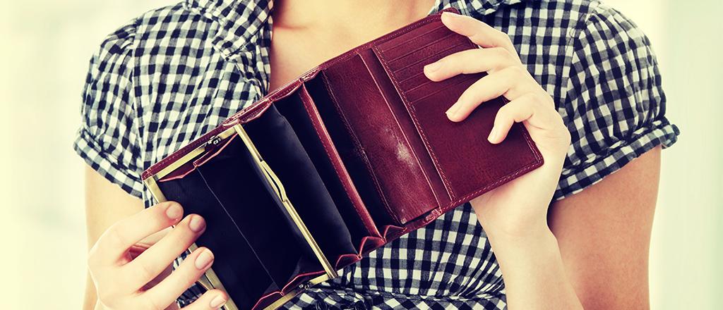 Pouco dinheiro traz felicidade
