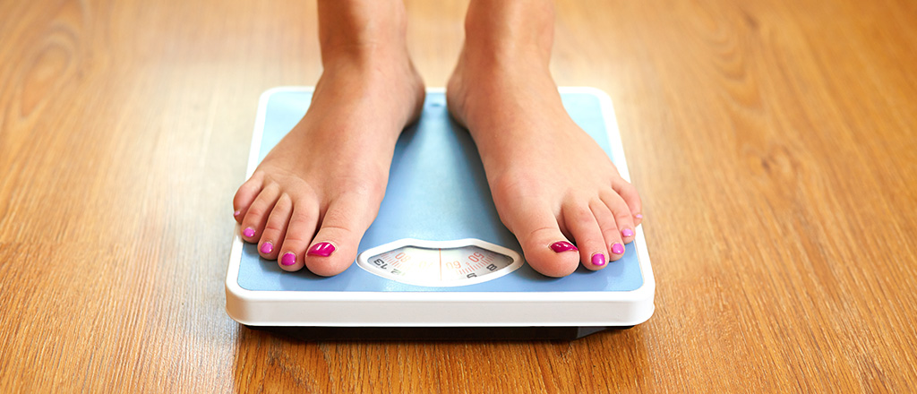 Perdendo peso pela ciência