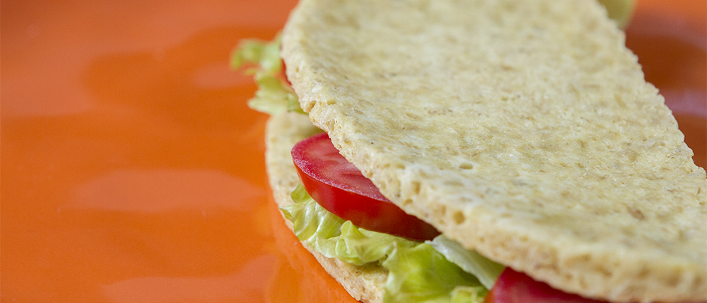 Pão de microondas sem farinha