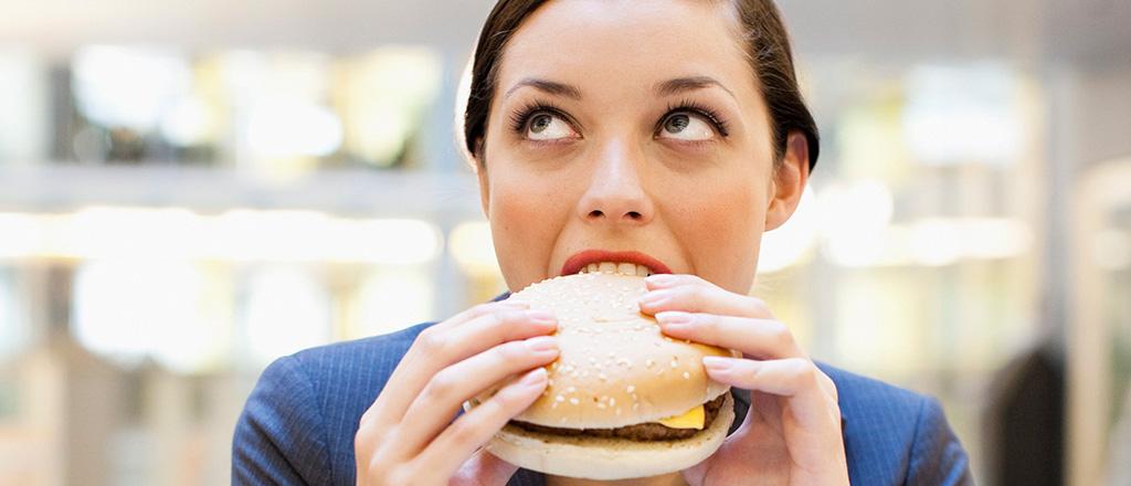 Fast food sem pressa