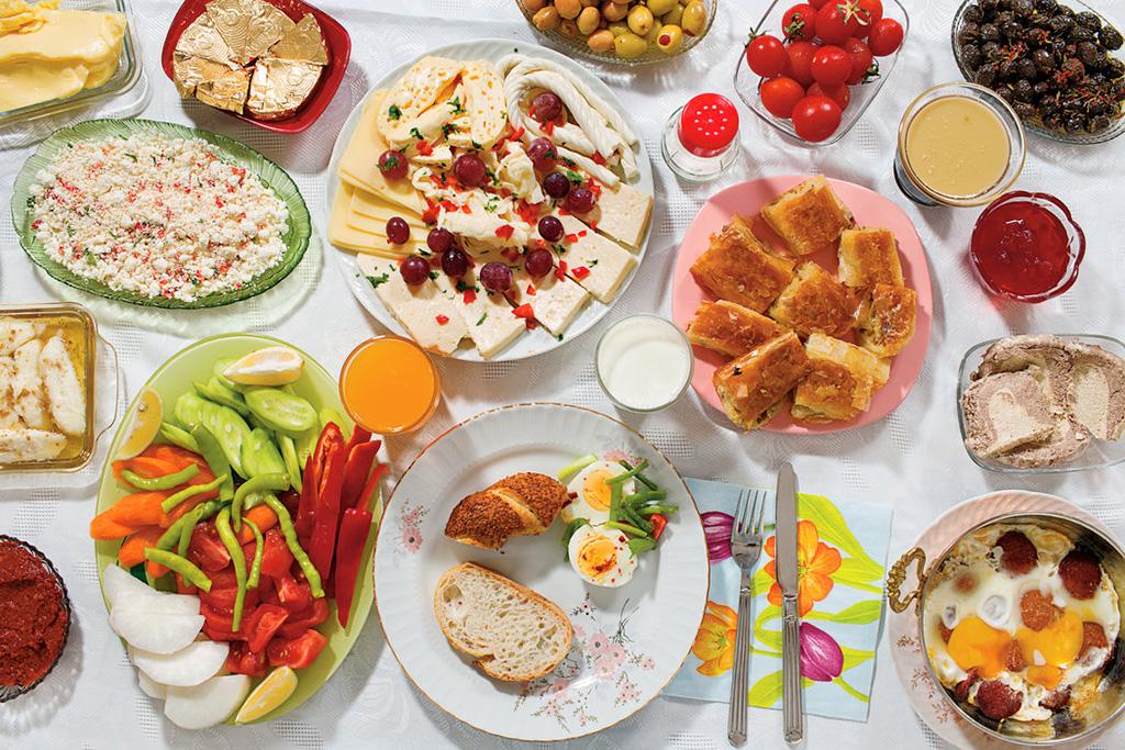 Café da manhã da Turquia