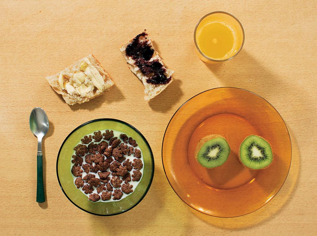 Café da manhã da França