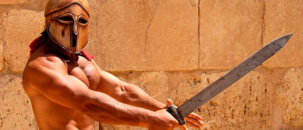 A dieta dos gladiadores