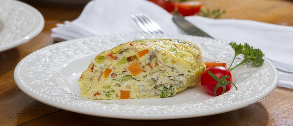 Omelete sem fritura