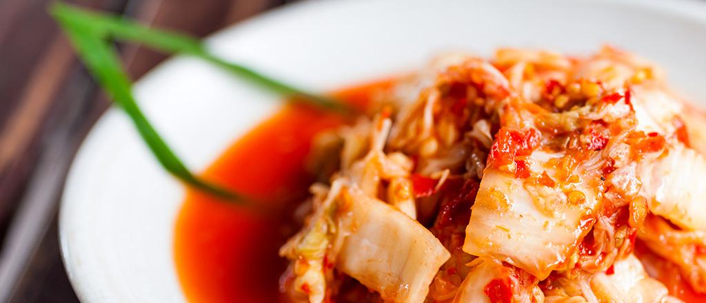 O poder do kimchi