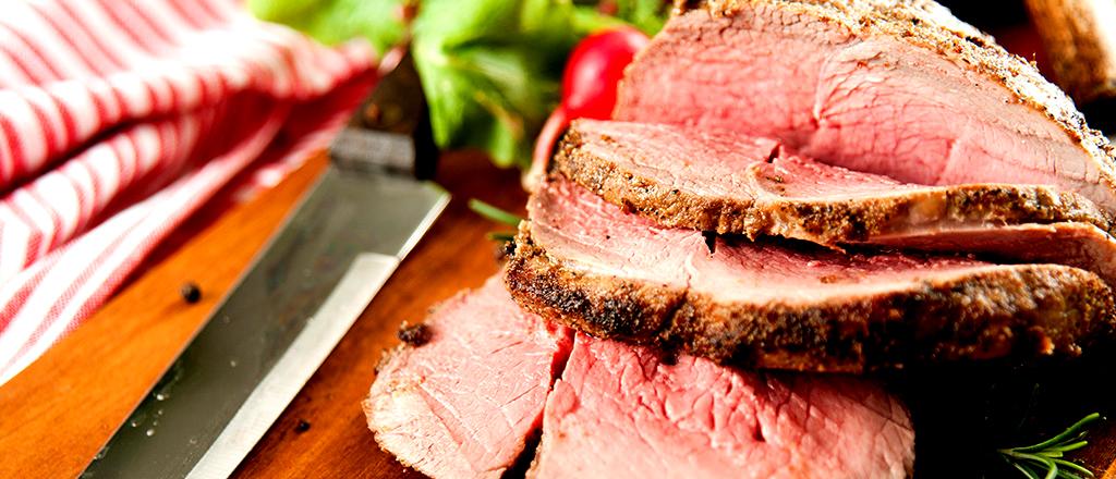 carne assada da fazenda