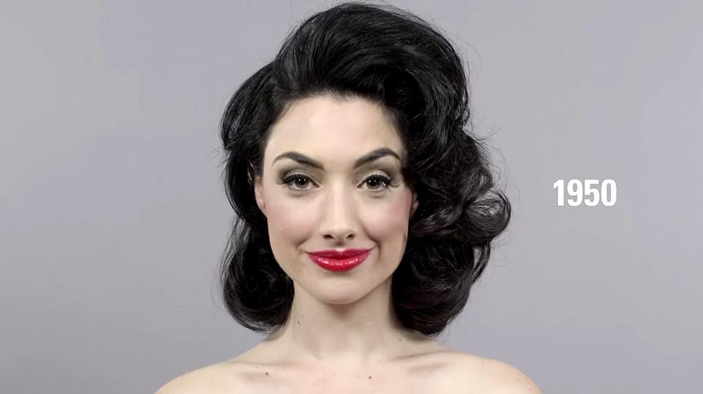 Beleza mutante anos 50