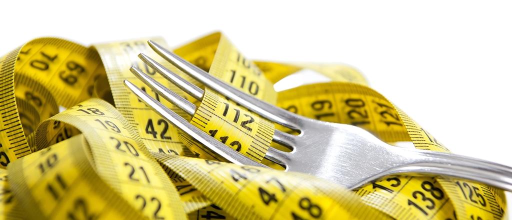 Perca peso comendo