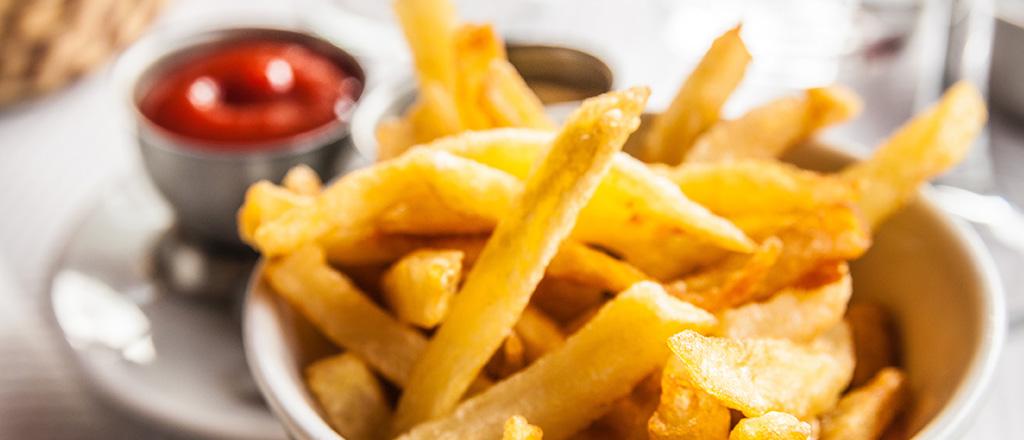 Batata frita sem culpa