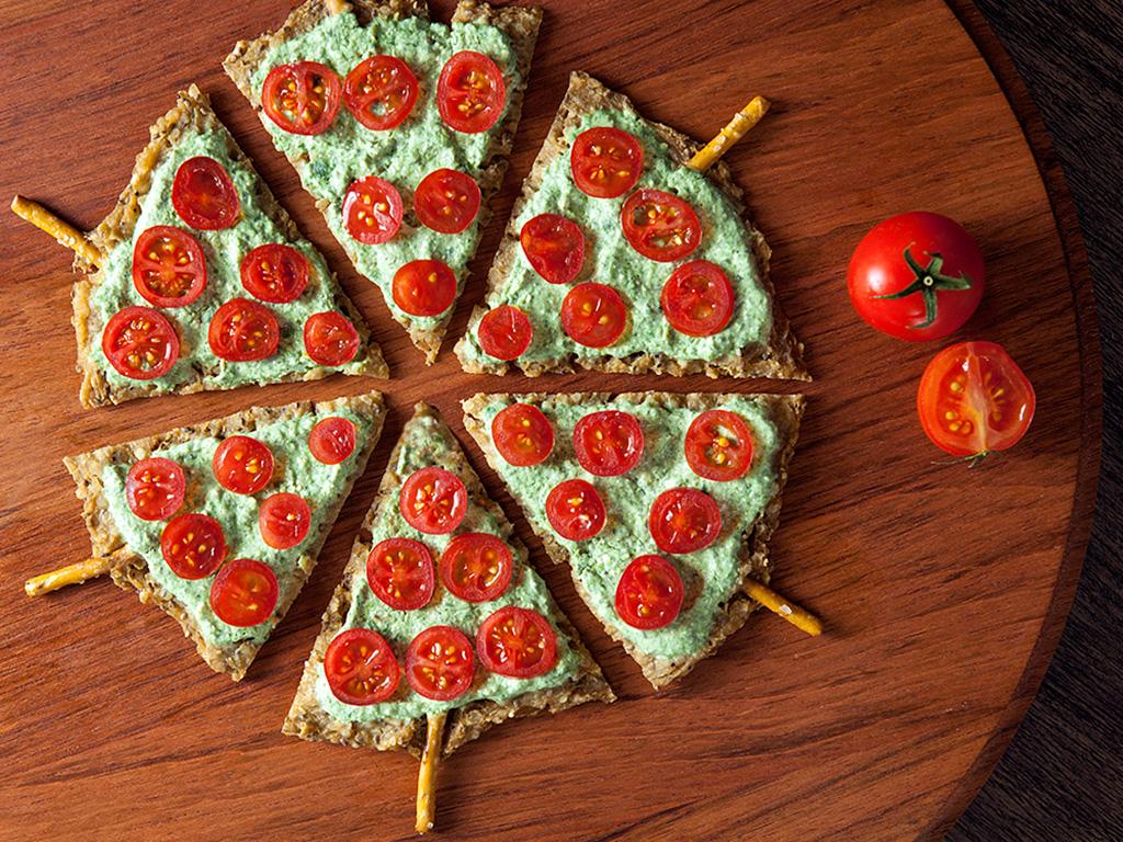 Pizza natalina