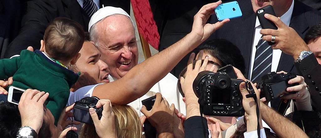 Quem faz selfie não é santo