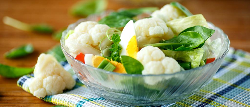 Salada no café da manhã?