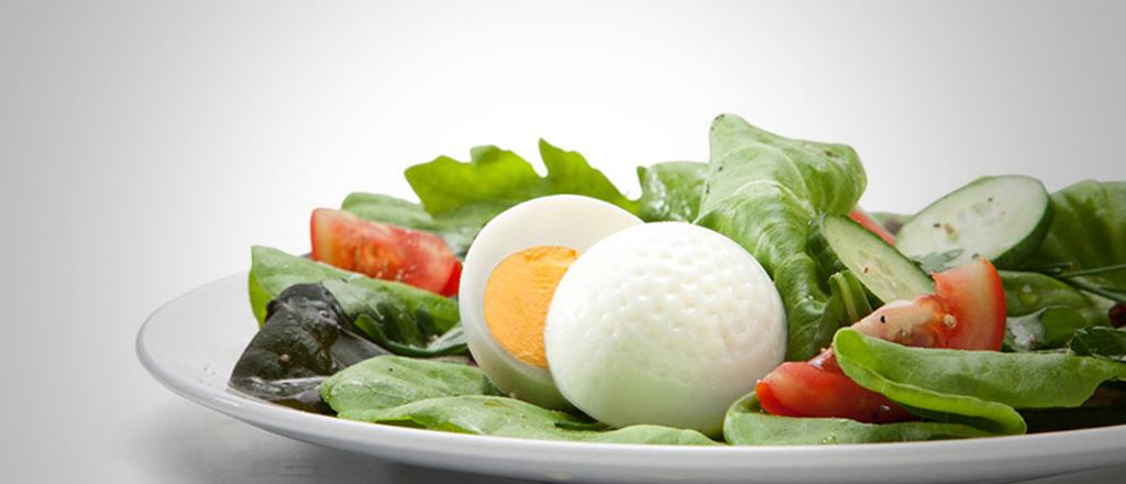 Marcando pontos com a salada