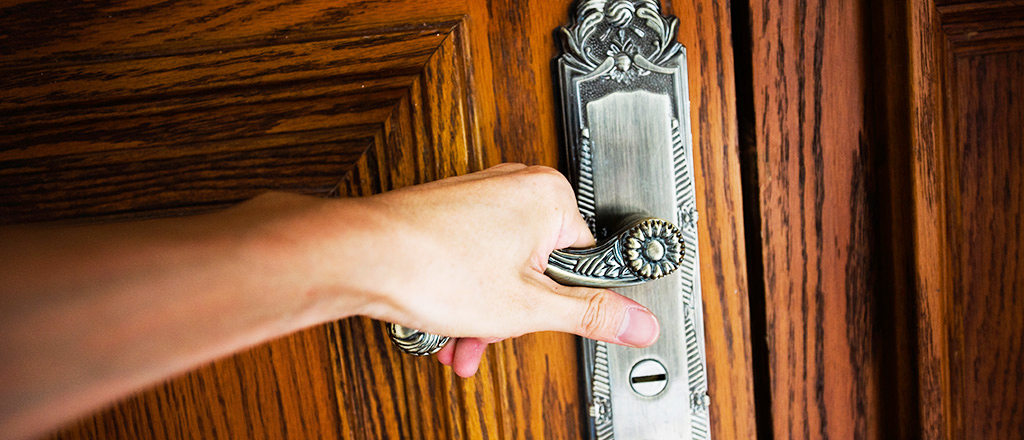 Todo mundo precisa de uma porta mágica