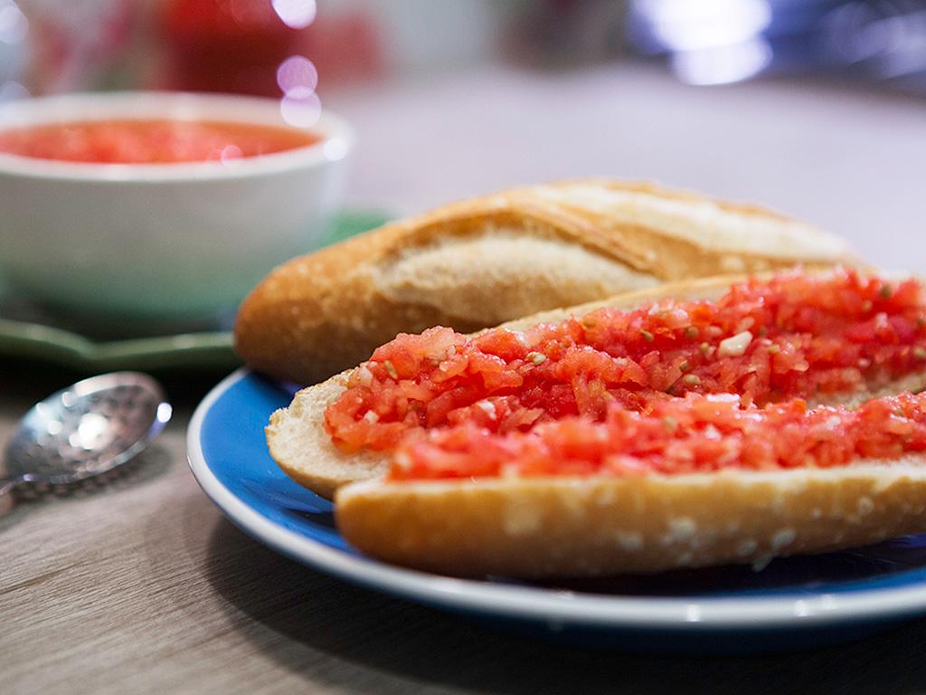 Molho de tomate rallado catalão
