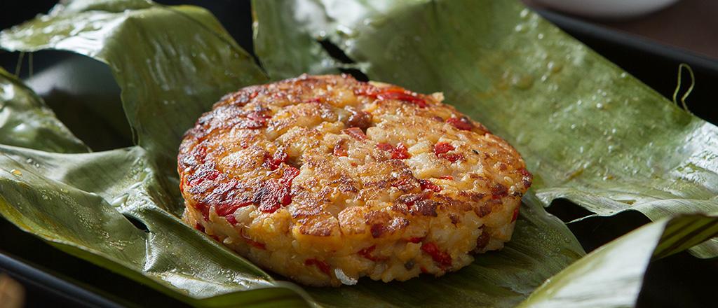 Hambúrguer de pescada com quinoa