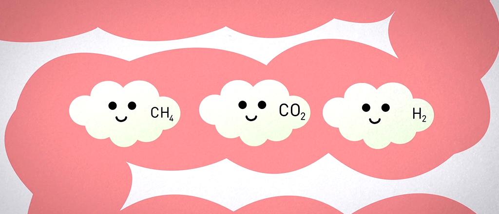 A lição dos gases