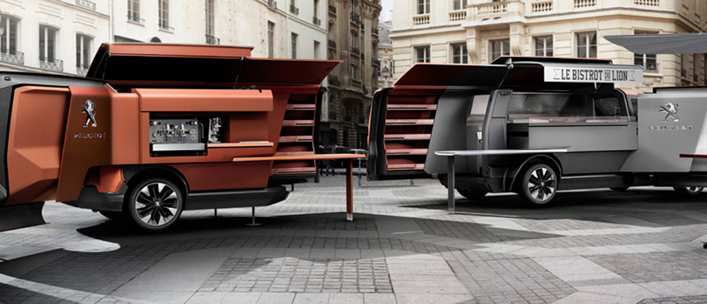 Design leva a comida de rua a outro nível