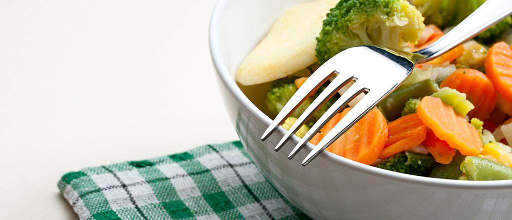 Vegetais contra a gordura