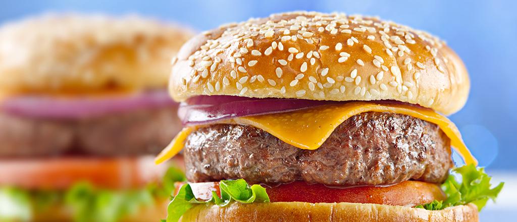 A história do hambúrguer