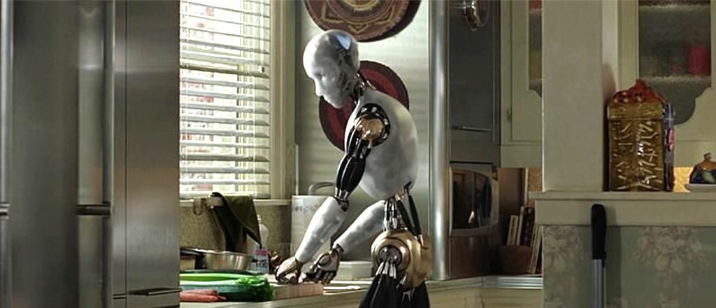 Tem robô na ca cozinha
