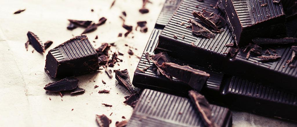 O lado bom do chocolate