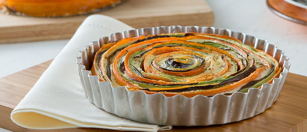 Torta de legumes sem farinha