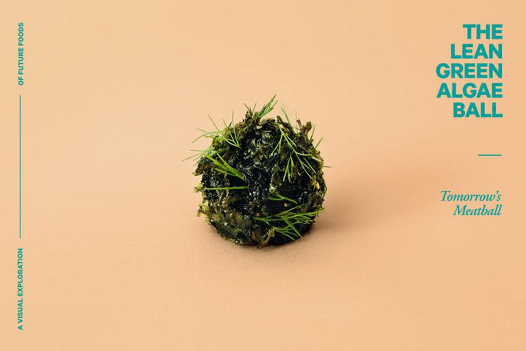 Almôndega de algas