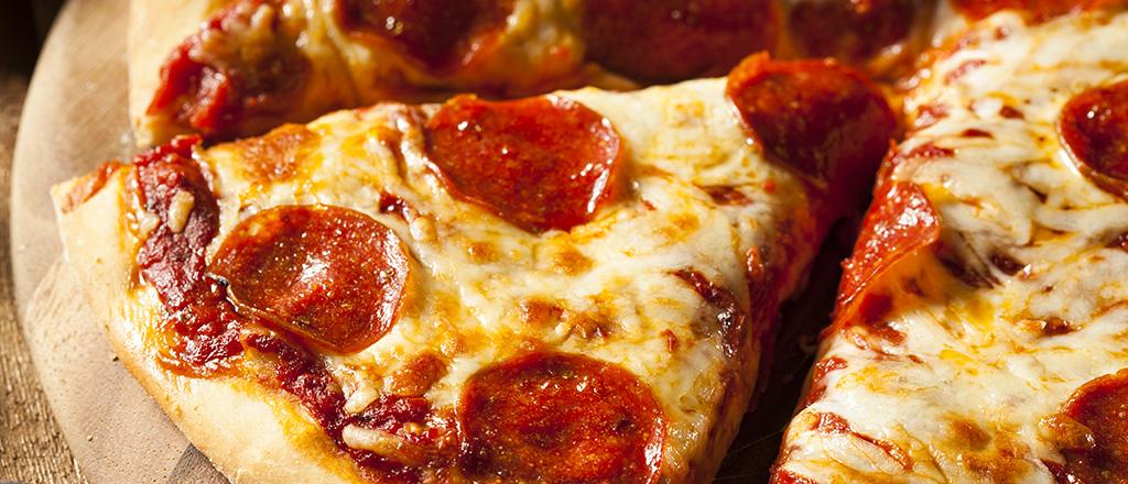 O perigo da pizza