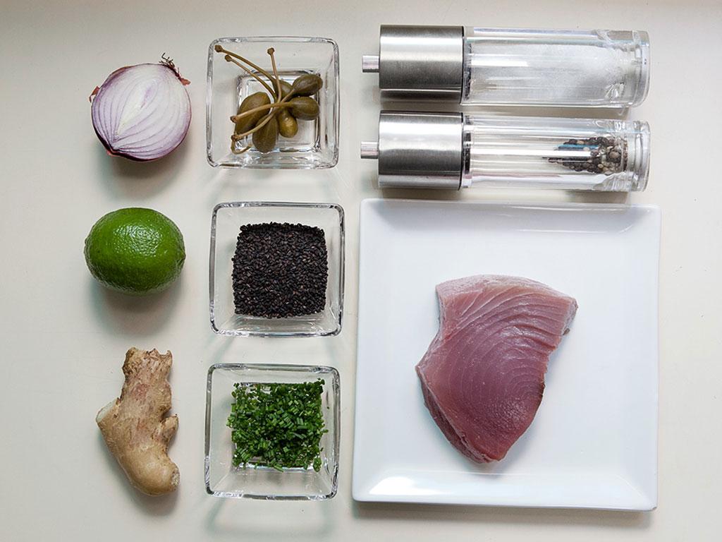 tartare-de-atum-ingredientes