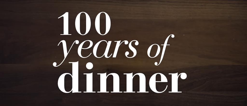 100 anos à mesa