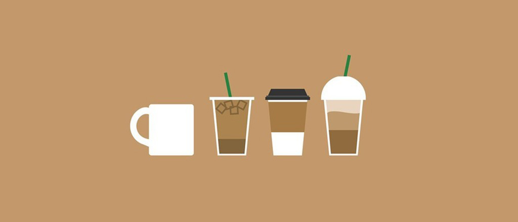 O poder do café para viagem