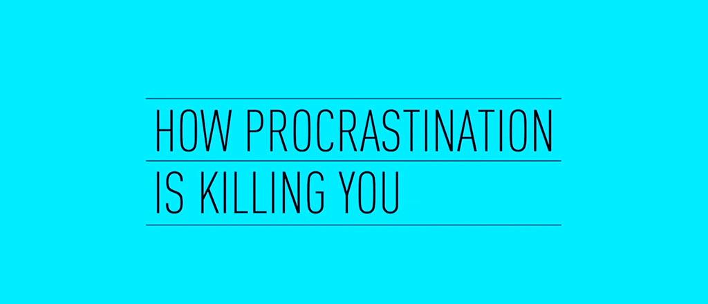 Como procrastinar está acabando com você