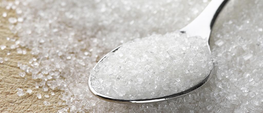 O açúcar está na cara