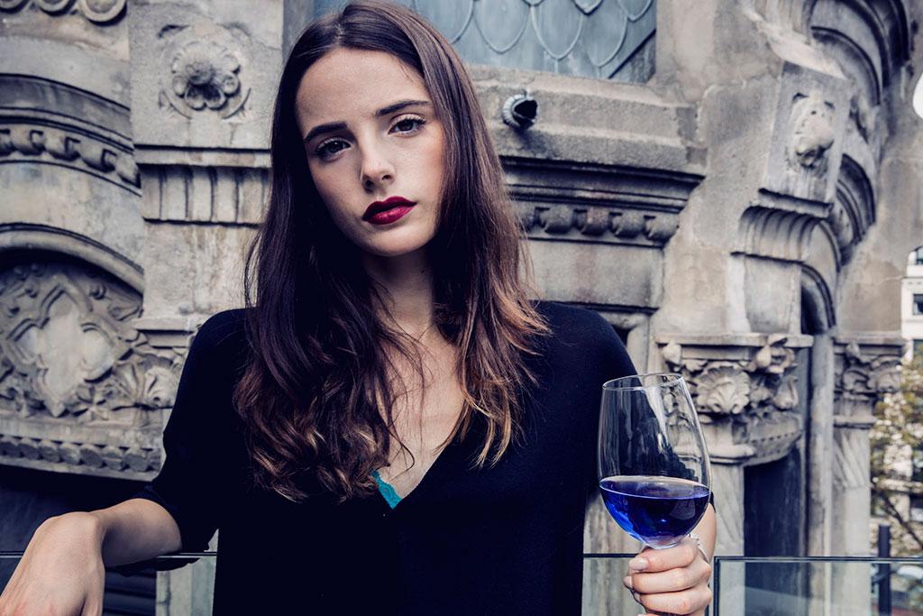 vinho-azul-conceito