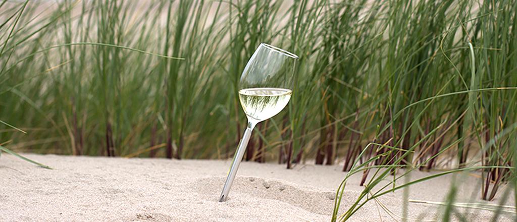 Design traz o brinde para a praia