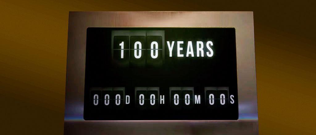 A vida de 100 anos